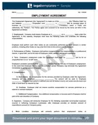 stunning employment contract template word ideas resume samples