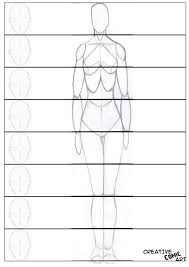 measuring human proportion creative comic art