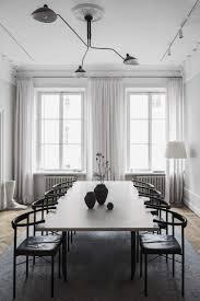 Black And White Home Interior Stunning Black And White Minimal Dining Room The Home Of Interior