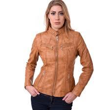 leather biker gear leather jacket biker style women ladies soft sheep nappa 100