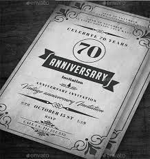 25th Anniversary Invitation Cards 21 Anniversary Cards List Design Trends Premium Psd Vector