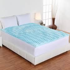 Bamboo Memory Foam Mattress Topper Linenspa 3 In Queen Gel Swirl Memory Foam Topper Ls30qq30swgt