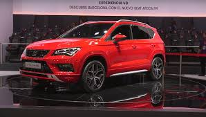 seat ateca seat ateca fr shown in barcelona looks cool in red autoevolution