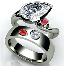 ring with birthstones wedding rings birthstones justanother me