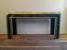 black lacquer console table furniture front lacquer console table decor market kayson mid