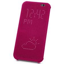 dot matrix view case for htc one m8 purple