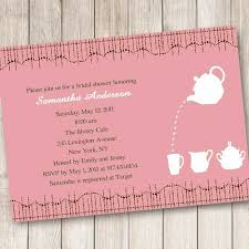 bridal tea party cheap print pink bridal shower tea party invitations ewbs036 as