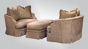 Ottoman Chair 743 Double Chair U0026 Ottoman Burton James