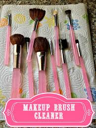 how to clean makeup brushes kylie shares her technique of using vinegar olive oil