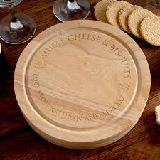 personalized cheese board set personalised wooden cheeseboard set gettingpersonal co uk