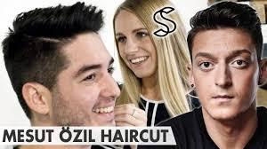 mesut ozil hair style mesut ozil hairstyle 2016 crew cut side parting arsenal