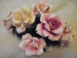 capodimonte roses 28 best capodimonte images on porcelain ornaments and