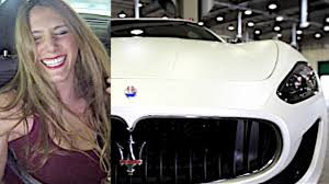 maserati woman fast girls anteprima maserati e giulia youtube