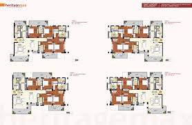 floor plans of heritage max heirtage max gurgaon conscient new