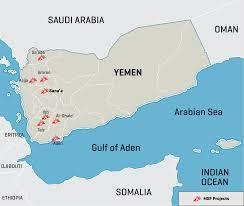 where is yemen on the map yemen msf usa