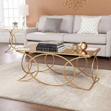 mirror tables for living room mirror coffee table sets you ll love wayfair