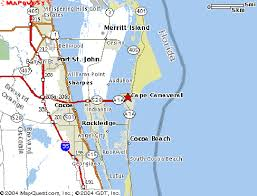 port canaveral map getting to port canaveral on port canaveral cruising com
