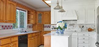 how can i make my oak kitchen cabinets look modern 13 ways to makeover dated kitchen cabinets without replacing