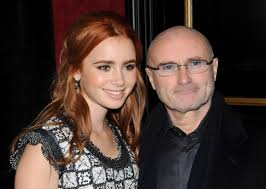 Collins The Blind Side Phil Collins Daughter Lily Collins Forgives Him In Book