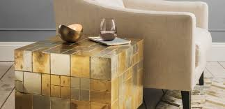 Gold Side Table 5 Beautiful Gold Side Tables That You Will