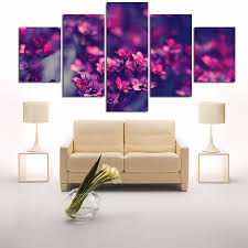 Paintings For Living Room by Online Buy Wholesale Purple Flower Painting From China Purple