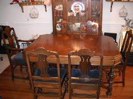 Vintage Dining Room Table Antique Dining Room Set Value Descargas Mundiales Com