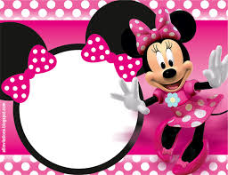 32 superb minnie mouse birthday invitations kitty baby love