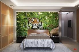 mural tiger in the jungle wallpapers mural tiger in the jungle