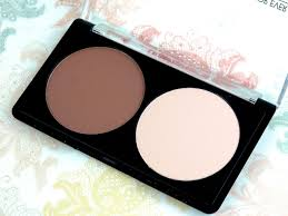 make up for ever sculpting face contour kit and sculpting brush