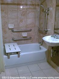 walk in shower chrome metal grab bars as well ada f also handicap