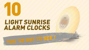 tecboss bedside l wake up light light sunrise alarm clocks new popular 2017 youtube