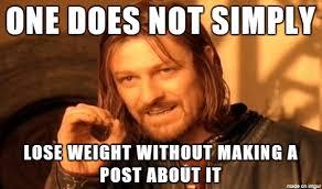 Losing Weight Meme - losing weight on social media meme mybataz blog