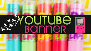 Banner Design Ideas New Yt Banner Layout Cute Ideas Youtube