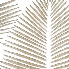 wall ideas design florida carved palm leaf wall home