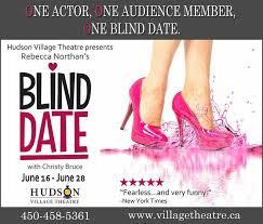 Blind Date Funny Blind Date Hudson Village Theatre