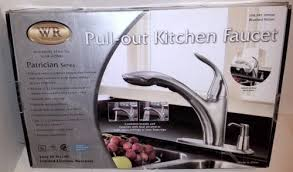 water ridge kitchen faucets water ridge patrician series kitchen faucet brushed nickel ebay