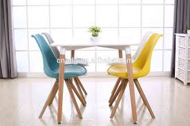 Tulip Chair Seller New Design Cheap Plastic Tulip Chair With Wood Leg