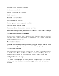 concise cover letter what is cover letter