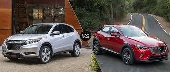 mazda cx3 honda hr v ex vs 2016 mazda cx 3