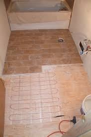 heated travertine floor radiant heating system cozy and