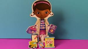 disney doc mcstuffins magnetic wooden dress up doll youtube