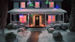 House Christmas Light Projector by Noma Light Show Snowflake Projector Assorted Canadian Tire