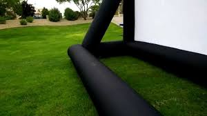 16x9 inflatable outdoor movie screens by infl8 screens youtube