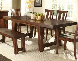 trestle dining room tables tahoe rectangular trestle dining table by liberty home gallery