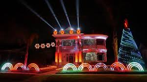 the great christmas light show watch this epic star wars themed christmas lights display is