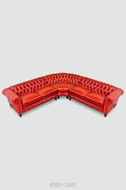 Corner Chesterfield Sofa by Higgins Chesterfield Sectional Sofa With Radius Corner Tight