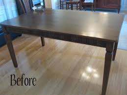 kitchen table refinishing ideas eleven ways to update and makeover an outdated or damaged dining table
