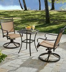 Balcony Bistro Set Patio Furniture by Warren 3 Piece Aluminum Bistro Set Outdoor Living Pinterest