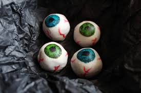 halloween white chocolate eyeballs ai made it for youai made it