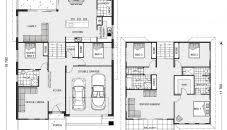 biel house plans edmonton with attached garage under sq ft canada
